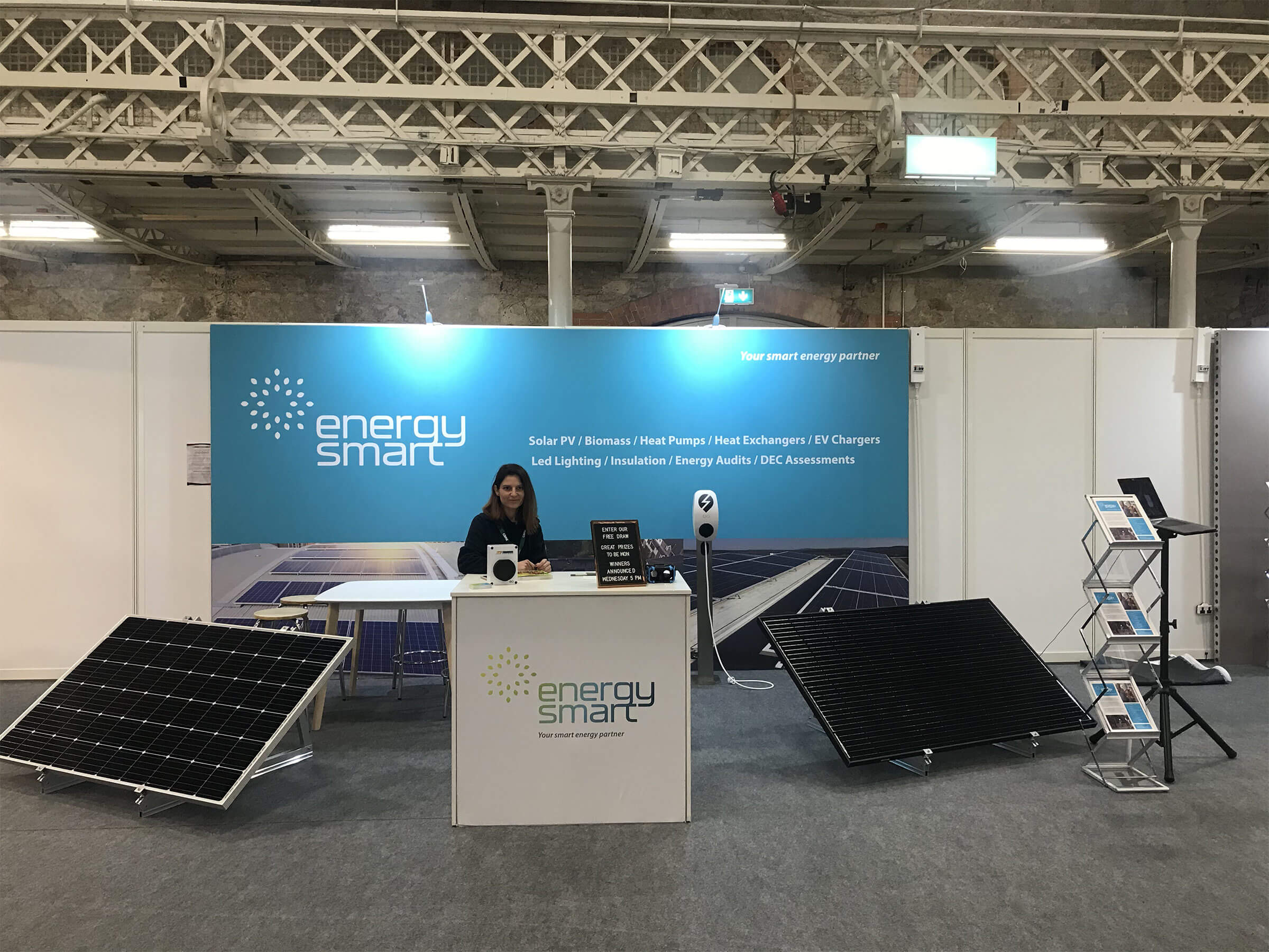 ENERGYSMART EXHIBIT AT THE WORKPLACE AND FACILITIES EXPO