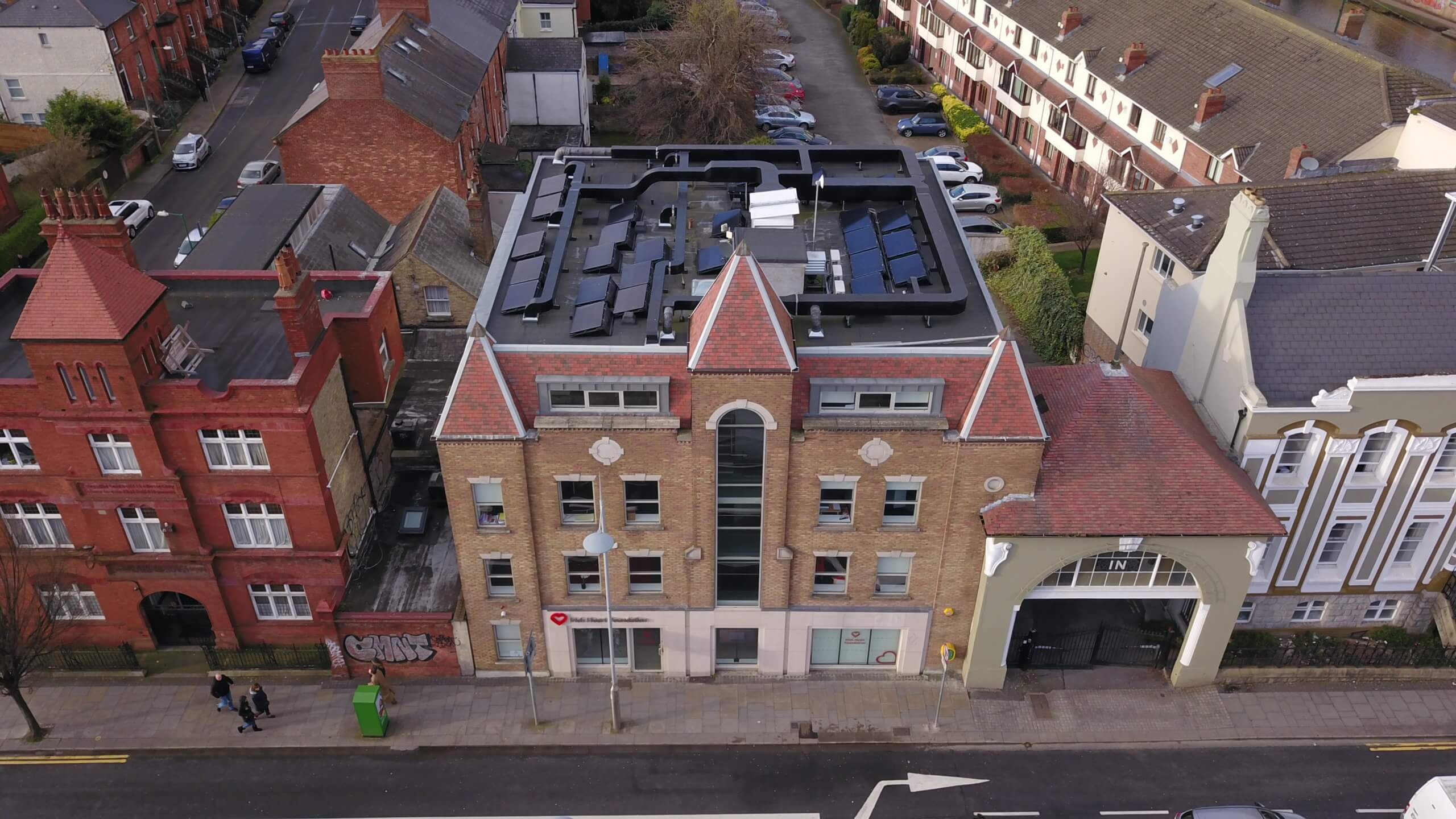 COMPLETION OF IRISH HEART FOUNDATION COMMERCIAL ROOF INSTALL
